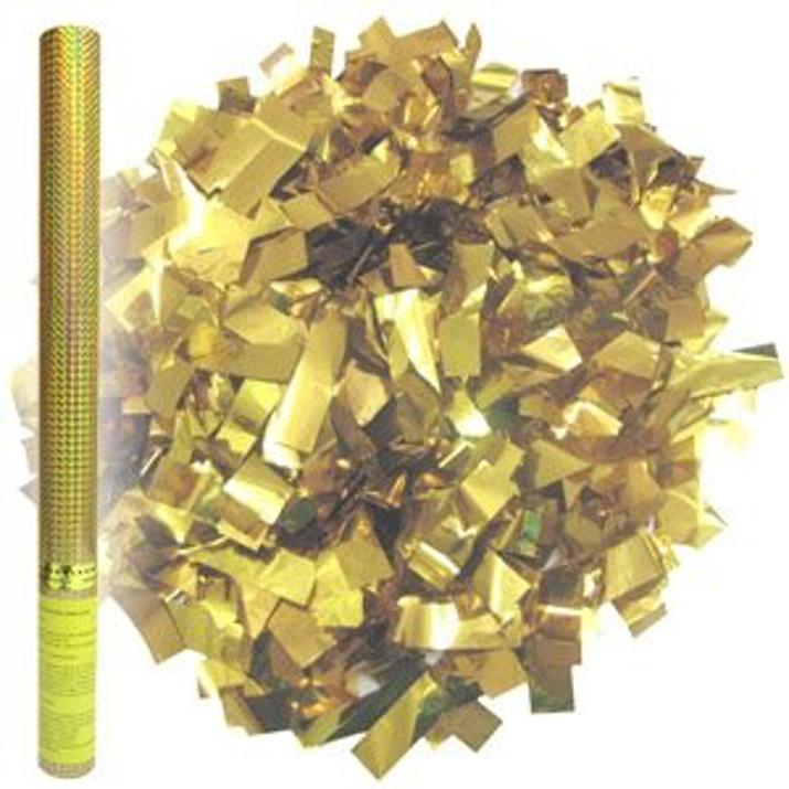 Изображение Пневмохлопушка Золотое конфетти 60см
