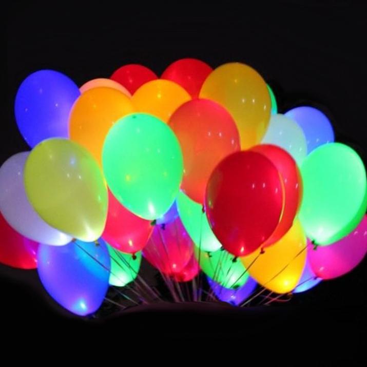 Изображение Светящиеся  шары