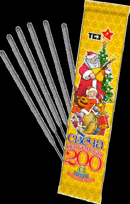 СВЕЧА БЕНГАЛЬСКАЯ 200
